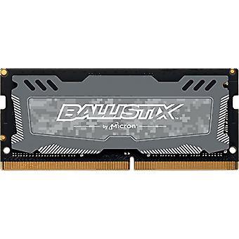 Ballistix Sport LT BLS8G4S240FSD 8 GB pamäť, DDR4, 2400 MT/s, PC4-19200, DR x8, SODIMM, 260-kolíkový, šedá