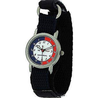 Cannibal Active Analogue Time Teacher Children Easy Fasten Strap Watch CT003-5N