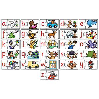 アルファベットマッチパズル