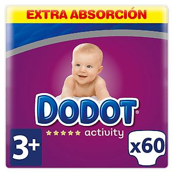 Dodot Activity Extra Diapers Size 3 with 60 Units