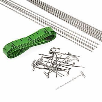 Cables de bloqueo de encaje: longitudes variadas: paquete de 16