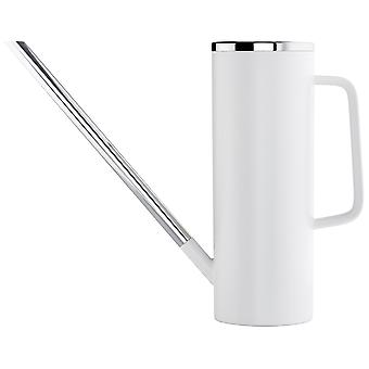 Blomus watering can LIMBO white plastic 1.5 liters combined with stainless steel