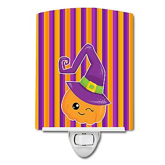 Carolines Aarteita BB6967CNL Halloween Kurpitsa Noita Keraaminen Yövalo