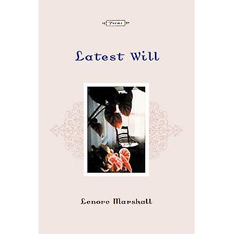 Latest Will Poems by Marshall & Lenore