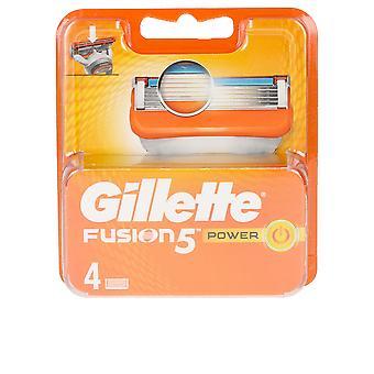 Gillette Fusion 5 Power Cargador 4 Recambios Para Homens