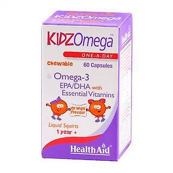 HealthAid KidzOmega כמוסות לעיסות 60 (802197)