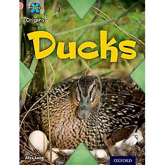 Project X Origins Pink Book Band Oxford Level 1 My Family Ducks by Lane & Alex