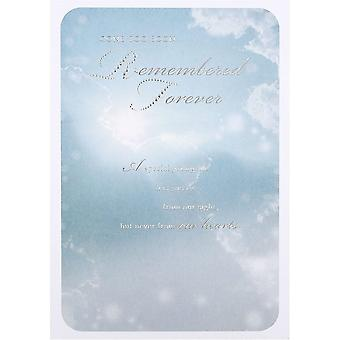 Hallmark Gone Too Soon...remembered Forever Young Person Bereavement Card 11372344