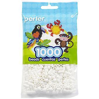 Perler Beads 1,000/Pkg-White