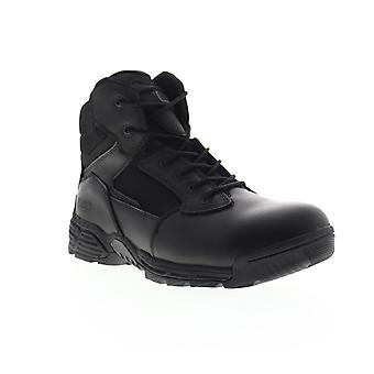 Magnum Stealth Force 6.0 SZ  Mens Black Leather Tactical Boots Shoes
