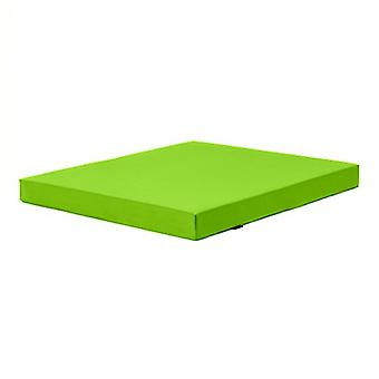 Fun!ture Lime Green 'Delta' Water Resistant X-Large Fitness Gym Mat - 120cm x 100cm