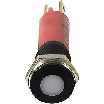 Signal Construct SFEU080225 LED indicator light Red 12 V AC, 12 V DC 080225 SFEU