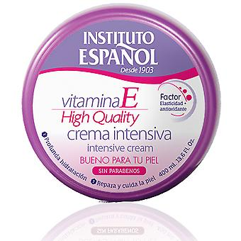 Instituto Español Creme Corporal Vitamina E Frasco de 400 ml