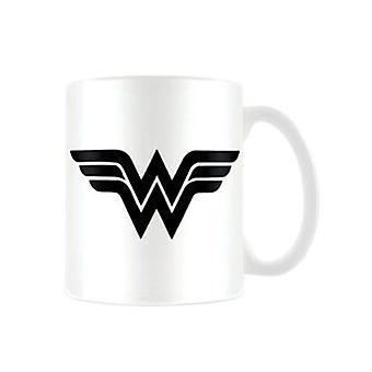 DC Comics Wonder Woman Logo Koffie Mok
