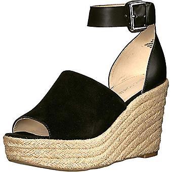 Marc Fisher Frauen's Schuhe Cala Wildleder Peep Toe Casual Espadrille Sandalen