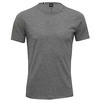 Replay Luxe Crew-Collo T-Shirt, Grey Melange