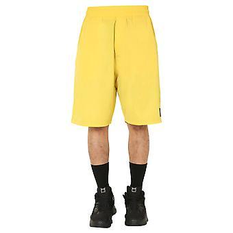 Mcq Door Alexander Mcqueen 578755roq337136 Men's Yellow Polyester Shorts