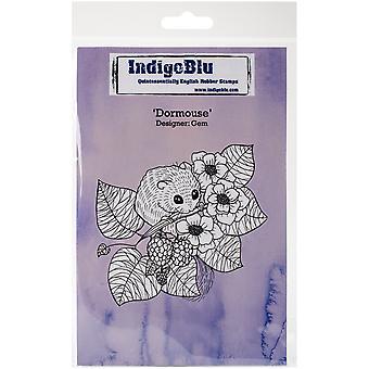 IndigoBlu Dormouse A6 Rubber Stamp