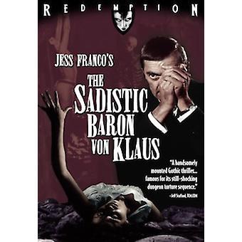 Sadistic Baron Von Klaus [BLU-RAY] USA import