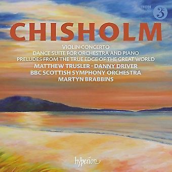 Chisholm / BBC Scottish Symphony Orch - Violin Concerto & Dance Suite [CD] USA import