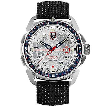 Luminox Ice Sar Quarz weiß Zifferblatt schwarz Textilarmband Herrenuhr XL.1208
