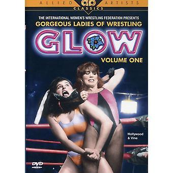Glow - Glow: Vol. 1 [DVD] USA importerer