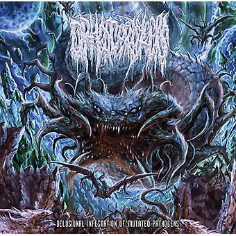 Delusional Infestation Of Mutated Pathogens [CD] USA import