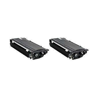 RudyTwos 2x Replacement for Brother TN2005 Toner Unit Black Compatible with DCP-7010, DCP-7010L, DCP-7020, DCP-7025, Fax-2820, Fax-2920, HL-2030, HL-2040, HL-2050, HL-2070, HL-2070N, HL-2500, MFC-7225