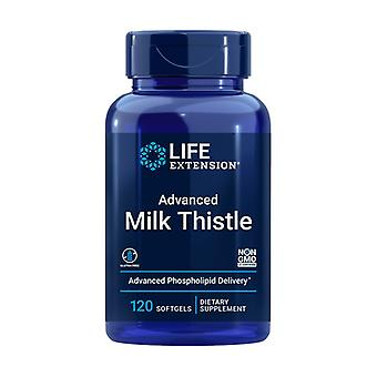 European Milk Thistle-advanced Phospholipid 120 softgels