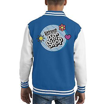 Littlest Pet Shop Circle Logo Kid's Varsity Jacket