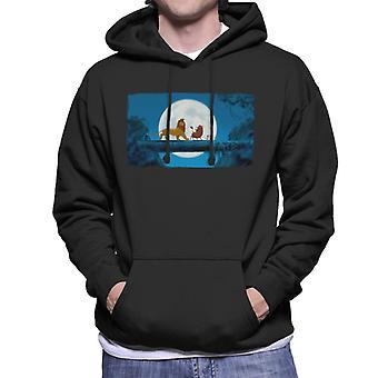 Disney Classic The Lion King Moonlit Hakuna Matata Men's Hooded Sweatshirt