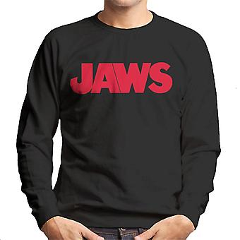 Jaws Text Logo Men's Sweatshirt