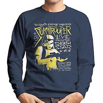 Star Wars Live From The Death Star Men's Sweatshirt