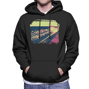 Motorsport Images Le Mans At Night Men's Hooded Sweatshirt