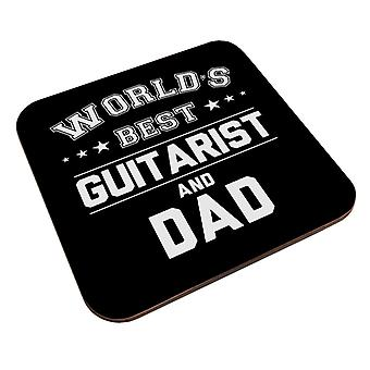 Worlds Best Guitarist And Dad Coaster