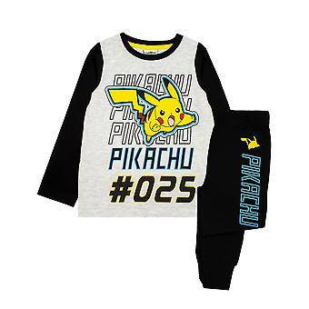 Pokemon Pikachu Character Boy's Children's Pyjamas Nightwear