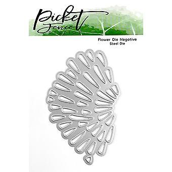 Picket Fence Studios Flower Negative Die