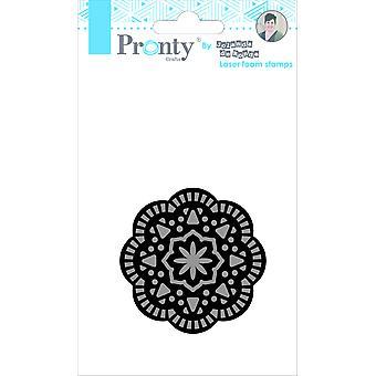 Pronty Crafts Mandala 2 Laser Foam Stamp