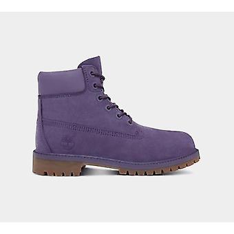 تيمبرلاند للماء جونيور 6 بوصة التمهيد أحذية الأرجواني الأحذية