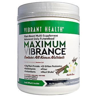 Vibrant Health, Maximum Vibrance, Version 3.0, Vanilla Bean, 2.21 oz (626.4 g)