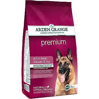 Arden Grange Premium Rich In Fresh Chicken & Rice - 2kg