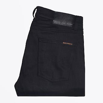 Nudie Jeans - Lean Dean - Dry Ever Black Jeans - Black