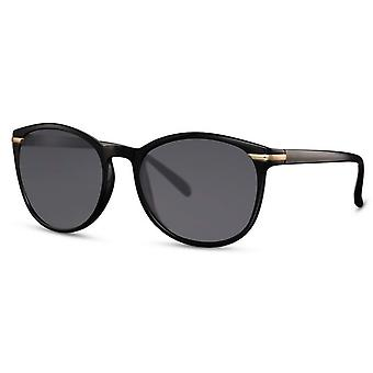 Sunglasses Unisex wayfarer cat. 3 matt black/gold