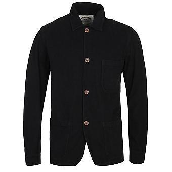 Chemise noire portugaise Flannel Labure Corduroy