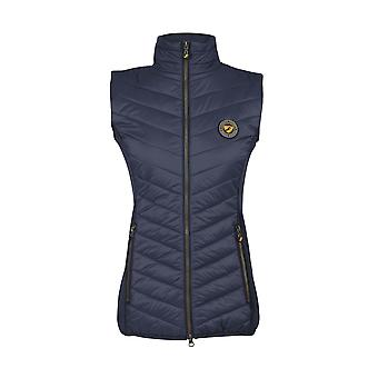 Shires Aubrion Cannon Womens Insulated Gilet - Navy Blue
