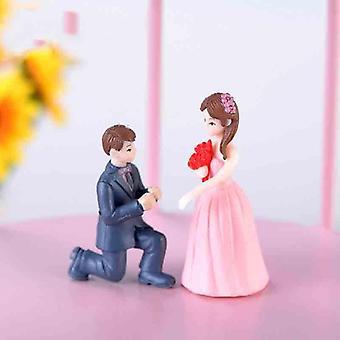 Miniatures Fairy Garden Ornaments Figurines Toys, Diy Aquarium/dollhouse