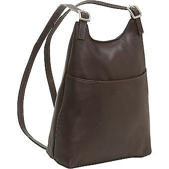 Women'S Sling Back Pack - Ld-961-Cafe