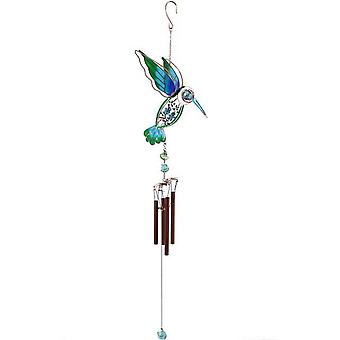 Something Different Blue/Green Kingfisher Windchime