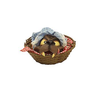 Adult Wolf in Basket Red Riding Hood Halloween Fancy Dress Costume Accessory