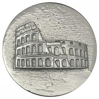Nikki Lissoni Rome Colosseum Large Silver Coin C1146SL